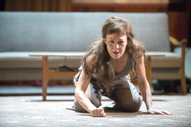 Helen McCrory as Medea. Photo Credit: Richard Hubert Smith.